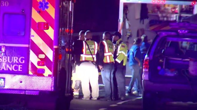 Wedding limousine crash leaves 20 dead in New York State